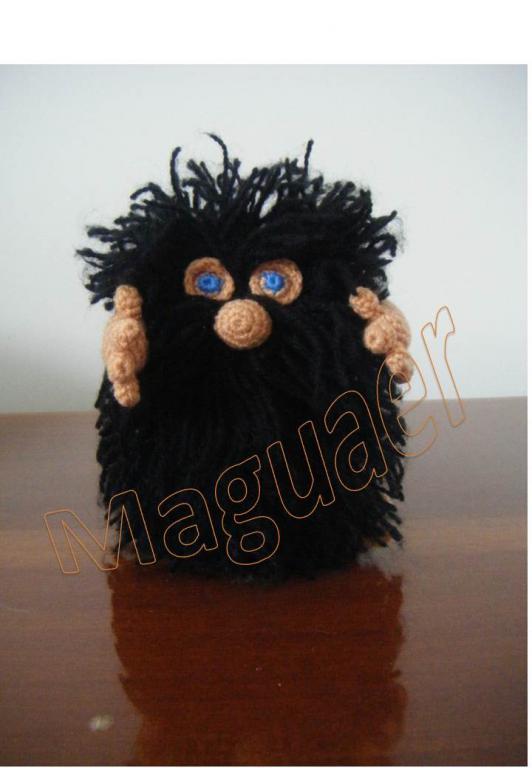 Форум почитателей амигуруми (вязаной игрушки) - Галерея - Просматривает изображение - Мистер Упс.