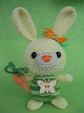 tricoté lapin jouet
