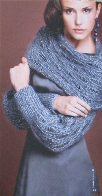 Какой ширины должен быть шарф 6