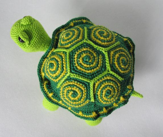 Вязание крючком - черепашка