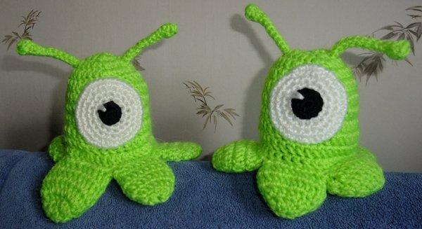Форум почитателей амигуруми (вязаной игрушки) > Мозговой слизень
