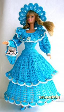 Схемы вязания для куклы барби.