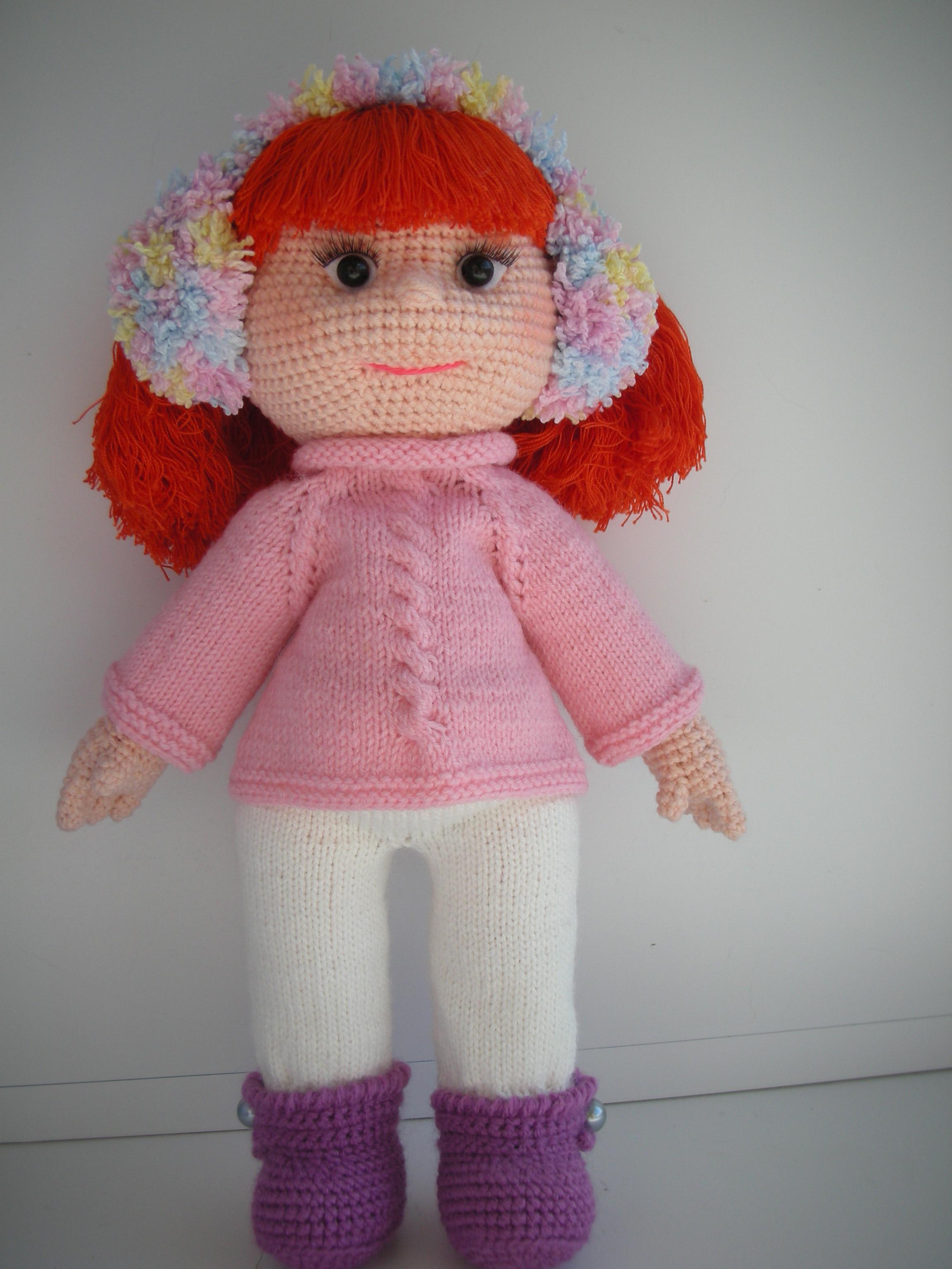 Куколка-малышка из онлайна Наташи Вязига. Одежка по описанию