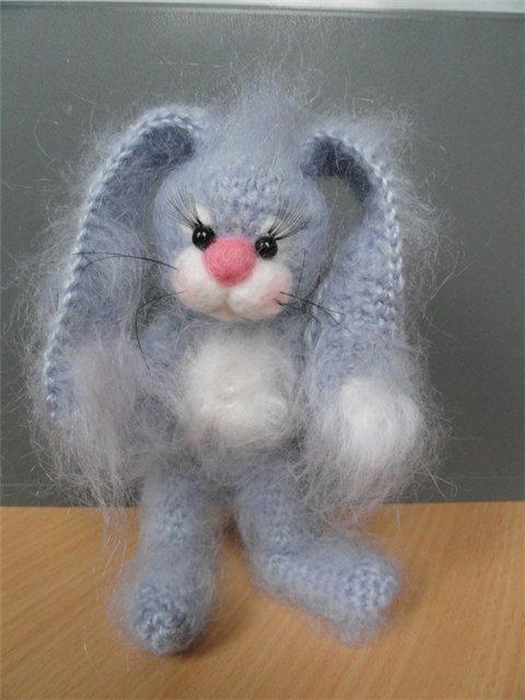Вязание крючком игрушки коты.