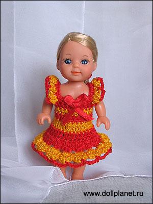 Вязание для кукол шелли.