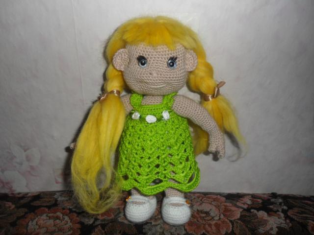 Куколка Малышка по онлайну Вязига-Наталья.